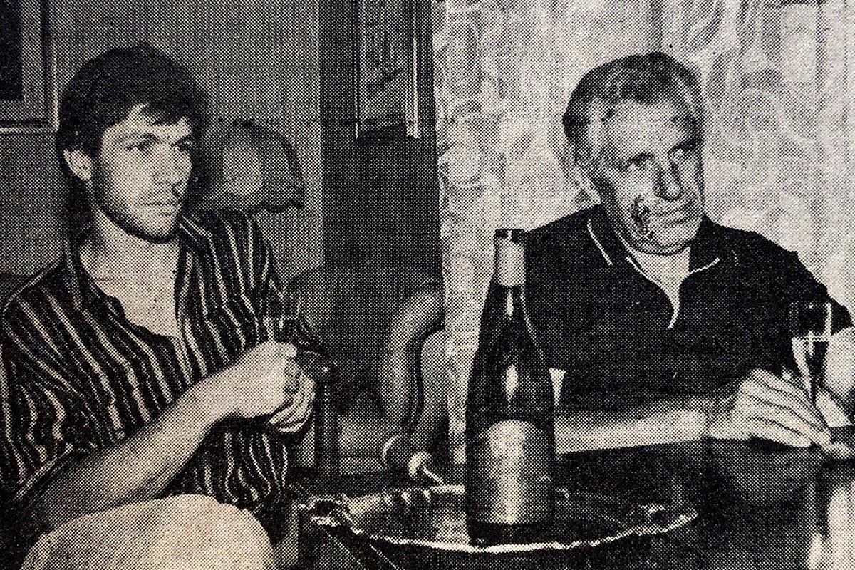 Giacomo e Lorenzo Cavallero (anni '80)